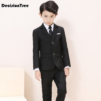 2019 new wedding suit for boys children prince stage performance formal suit birthday flower kid school suit ceremony chorus set