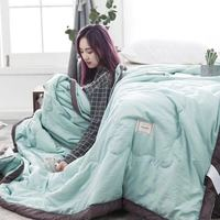 quilted bedspread quilting pieces Polyester Summer Home Textile air conditioner room thin quilt set dropshipping bedroom