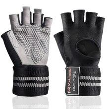Fitness Gym Glove Men & Women Anti-Slip Silicone Grip Padded