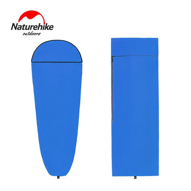 Naturehike спальный мешок лайнер полиэстер складной портативный Отдых Туризм спальный мешок для туристов на открытом воздухе кемпинга путешест
