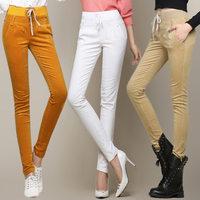 Women S Autumn Winter Corduroy Trousers Waist Straight Female Plus Size 27 34 Thin Corduroy Pants