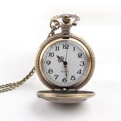 Cindiry новый Винтаж бронза Рыбалка кварцевые Античный карманные часы для мужчин и женщин P0.2