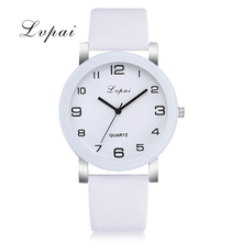 hot deal buy lvpai quartz watches for women luxury white bracelet watches ladies dress creative clock watches relojes mujer-1 lp304