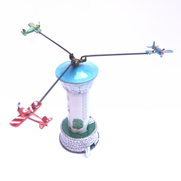 Adult Collection Retro Wind up toy Metal Tin The walking robot Mechanical toy Clockwork toy figures model kids christmas gift