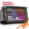 "Erisin ES6405V 8"" Android 6.0 Octa Core Car GPS Sat DVD DAB+ for VW"