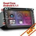 "Erisin ES6405V 8 ""Android 6.0 Octa Core Coche GPS Sat DVD DAB + para VW"