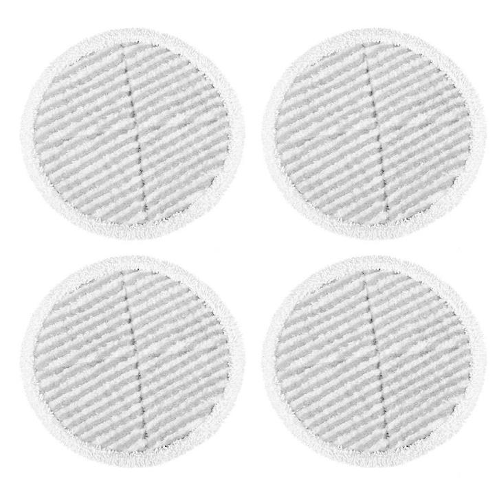 4 Packs Steam Scrubby Mop pads for Bissell Spinwave 2124 2039A Hard Floor  Washable sweeping Pad mopping cloth replacement стоимость