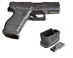 Glock 43 более Журнал Расширение базы накладка пластина для 9 мм 6rd пистолет плюс 2-круглый G43 Mag Сцепление Заглушка рамы