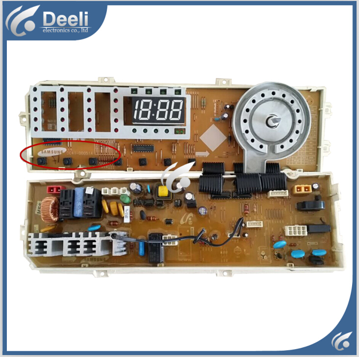 цена 95% new Original for Samsung washing machine Computer board WF-R1065S MFS-TDR10NB-00 DC41-00051A motherboard онлайн в 2017 году