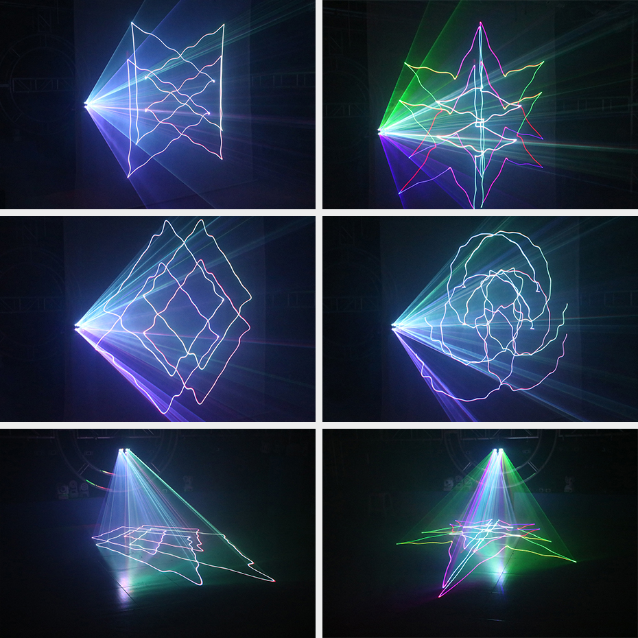 Image 5 - ALIEN RGB Beam Stage Laser Projector Scanner Lighting Effect DMX Professional DJ Disco Club Bar Party Holiday Wedding Show Light-in Stage Lighting Effect from Lights & Lighting