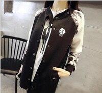 Kpop Exo Luhan Sehun Clothing Coat Jacket Baseball Star Autumn Winter Women Mens EXO Korean Loose