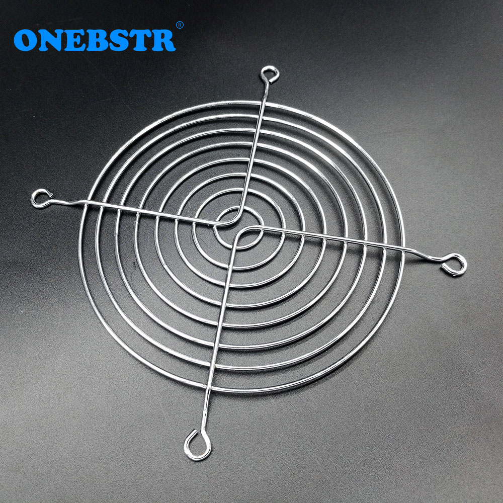 12CM Fan Iron Net CPU Cooling Fan Cover Finger Guard Motherboard Fan Protection Net 120*120MM Computer Fan for 12025/12038 AC/DC 3pcs gdstime 200mm chrome metal computer pc fan grill mounting finger guard protection