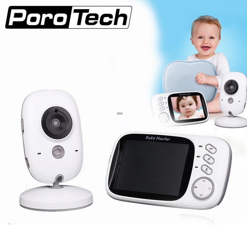 VB603 VB605 Wireless Baby Monitor Electronic Babysitter Radio Video Nanny Camera Night Vision Temperature Monitoring Lullaby
