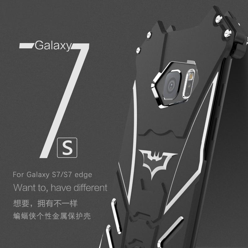 buy online 2065c 92dd2 US $37.98 |R Just Batman Case For Samsung Galaxy S6 S7 edge S8 Plus Note 8  5 Aluminum Alloy Metal Cover For Samsung Galaxy S7 edge Case -in Fitted ...
