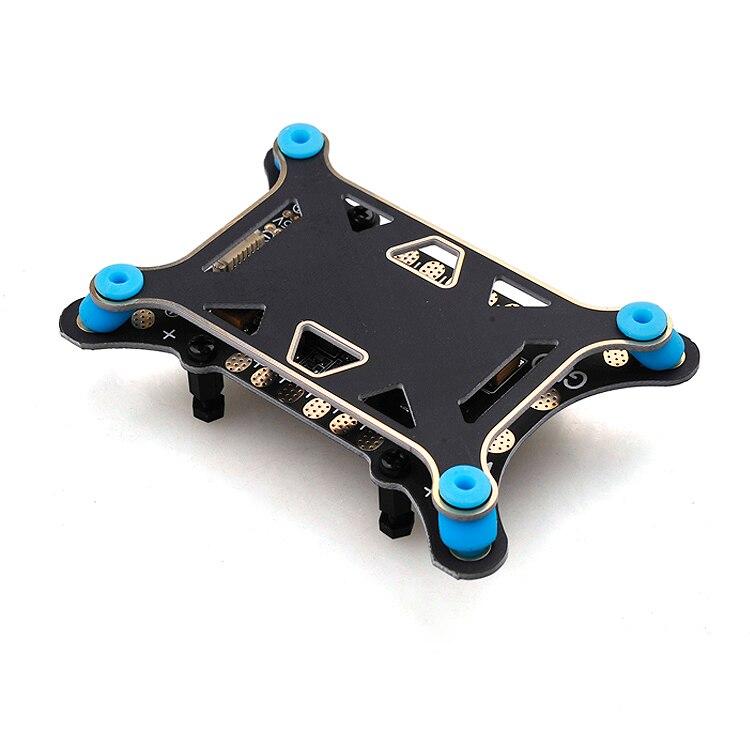 DIY Kit ZD850 Frame Kit with Landing Gear 620KV Bruless Motor 40A ESC 1555 Props Shock Absorber for FPV 6 Aelx Hexacopter Drone