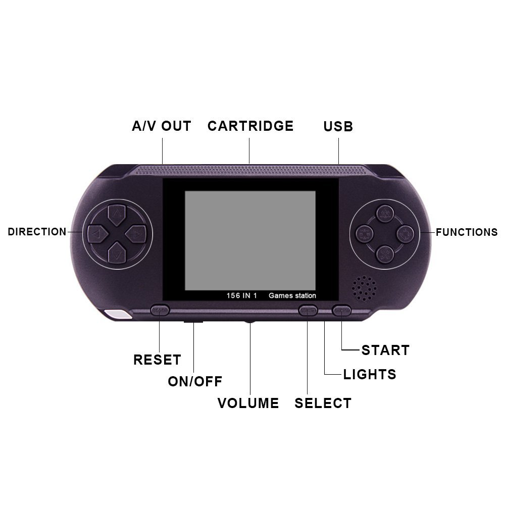 JOEAIS Handheld Game Console Classic Mini Gaming Console Player Christmas Halloween XMAS Birthday Gifts for Boy Kids Children