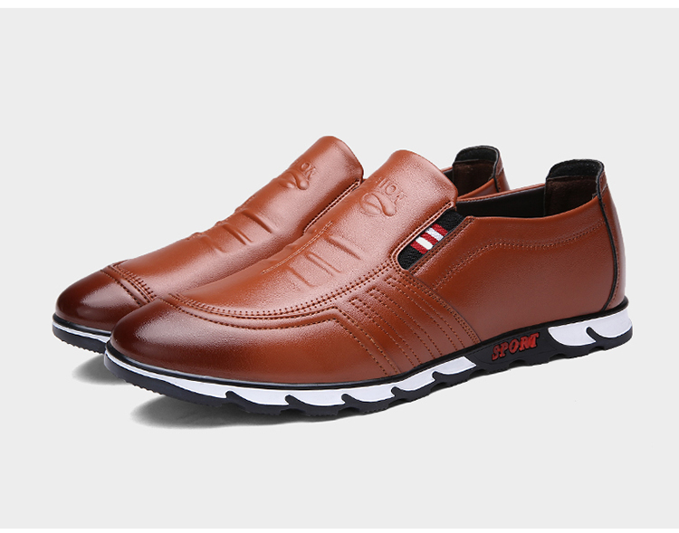 Men's Retro Slip-On Shoes Artificial Leather 18