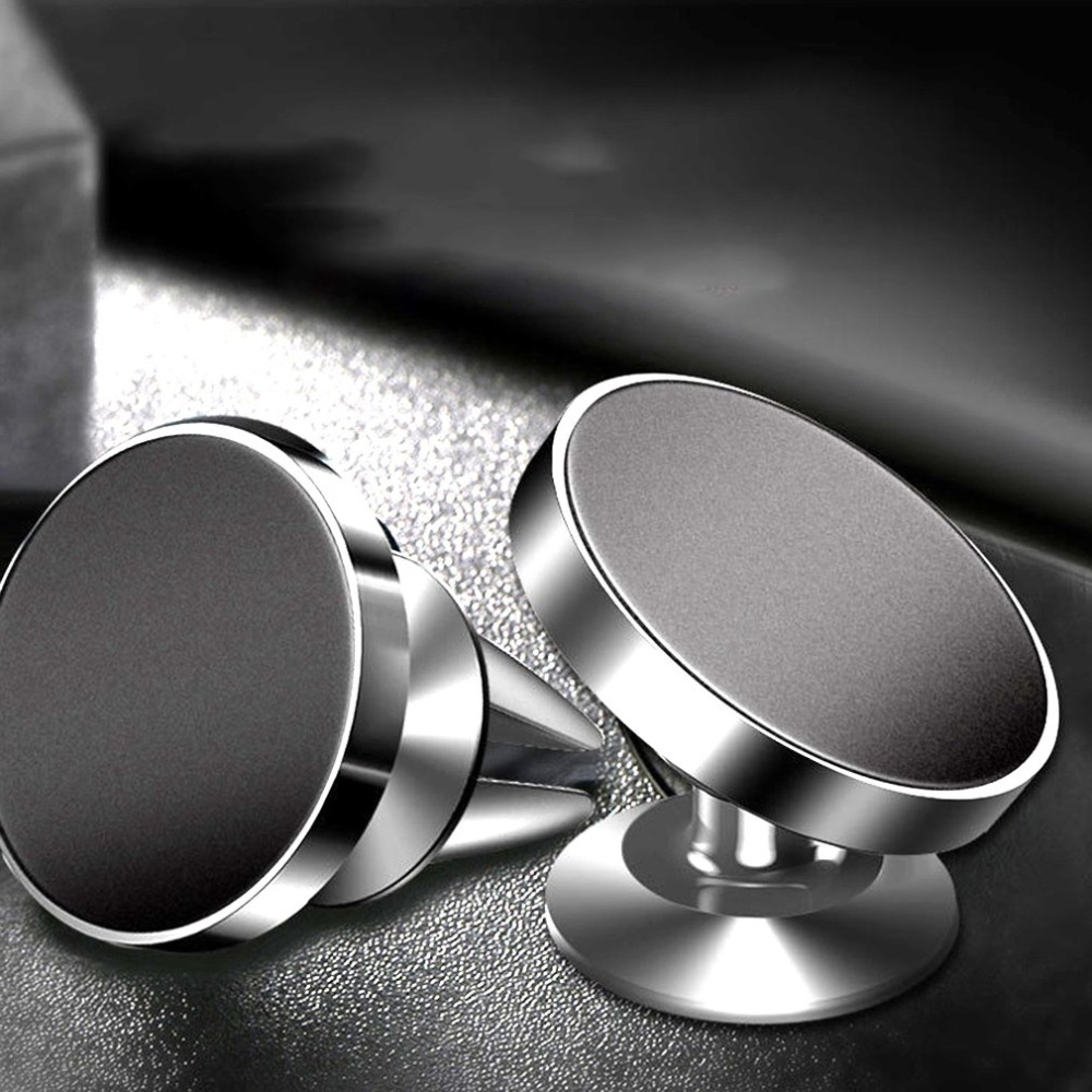 Universal Magnetic Car Phone Holder Stand Bracket For iPhone