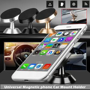 Image 5 - Car Mobile Phone Magnetic Holder 360 Degree Air Outlet Car Magnetic Navigation Multi Function Mobile Phone Stand 3 Color