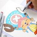Finecolour 36/48/60/72 цветов анимация спиртовые чернила Эскиз маркер для манги Профессиональный чертеж канцелярские маркеры товары для искусства