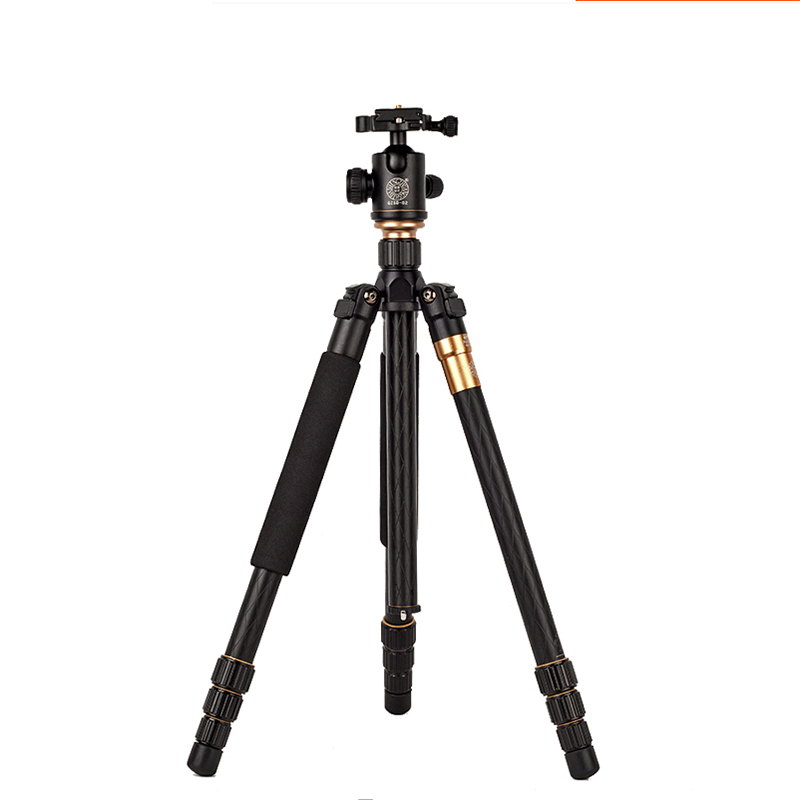 QZSD Q999 Professional Photographic Portable Tripod To Monopod+Ball Head For Digital SLR DSLR Camera Fold 43cm Max Loading 15Kg qzsd q570 portable tripod professional camera tripod monopods for slr camera tripod head monopod changeable for slr dslr camera
