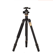 pro Q999 SLR camera tripod photography package q-999 tour portable digital +Ball Head  Wholesale free shipping
