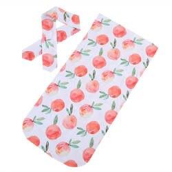 Для новорожденных милые пеленать Одеяло ребенок комфортно спать пеленать муслин Обёрточная бумага повязка на голову