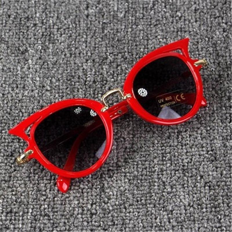 Beautyeye 2018 Kids Sunglasses Girls Brand Cat Eye Children Glasses Boys UV400 Lens Baby Sun glasses