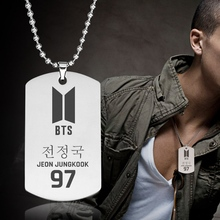 BTS Metal Tag Necklace [All Members]