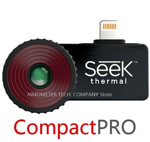 Seek termica compatto pro caccia Termocamera imager telecamera termica a infrarossi occhiali per la visione notturna Android e IOS versione