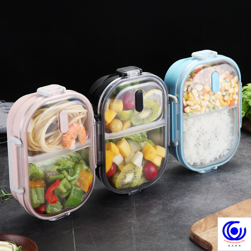 A Kitchen Is Launching An Express Lunch Service: Portable Lunch Box For Kids School 304 Stainless Steel