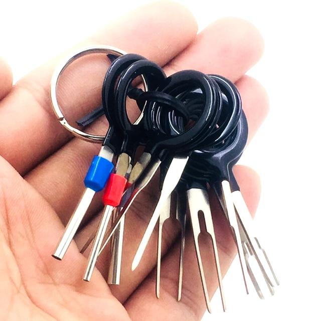 3pcs/11Pcs/Set Terminal Removal Tools Car Electrical Wiring Crimp