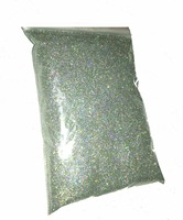 Silver Colorful Laser Holographic 0 2MM 1 128 Fine Glitter Powder For Nail Decoration And Others