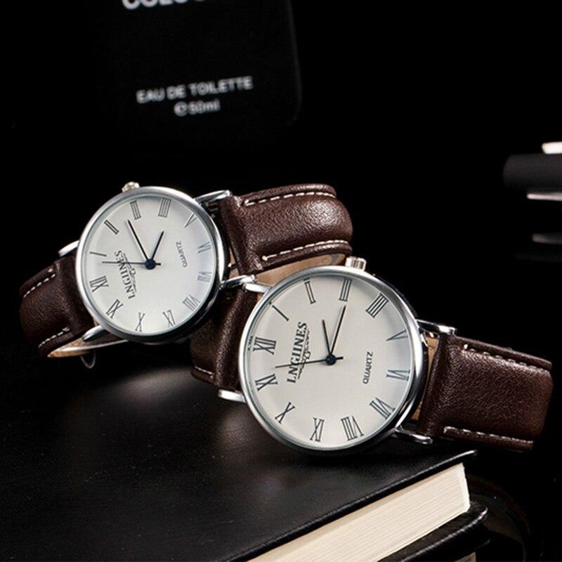 DOBROA Men And Women Watch Ladies And Gentlemen Quartz Wristwatches Couples Watches relogio masculino reloj mujer