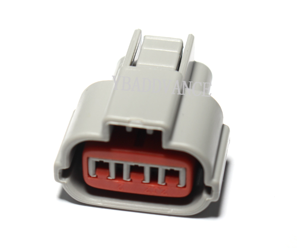 Light Grey Evo Coil 3 Way Automotive Connector For Japanese Cars With Pins and Wire Seals