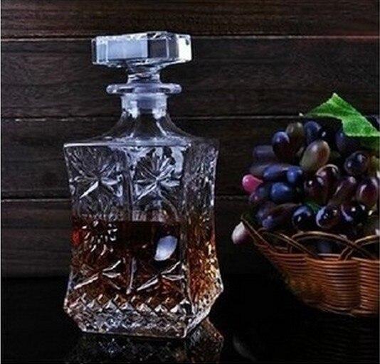 1 STÜCK Kristall Glas Wein Rote Flasche Wein Dekanter Whisky Liqour Ausgießer Home Bar Vodka Bierflasche Glas Krug JR 1091