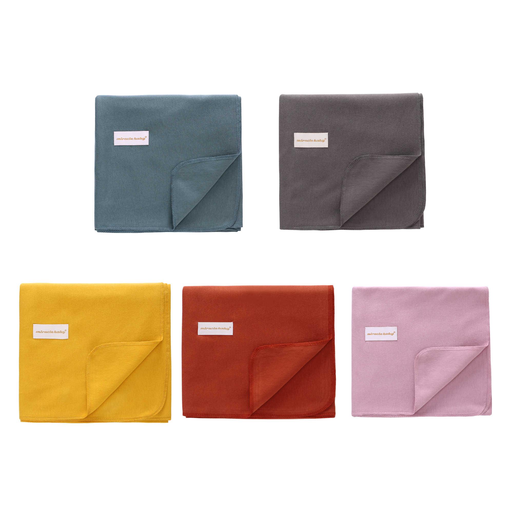 2 peças um conjunto de algodão bebê swaddle cobertor + chapéu recém-nascido recebendo cobertor novo outono bebê saco de dormir toalha banho tamanho 90*90cm