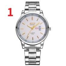 2019 новые мужские часы мужские Студенческие механические часы автоматические водонепроницаемые Модные простые кожаные мужские часы