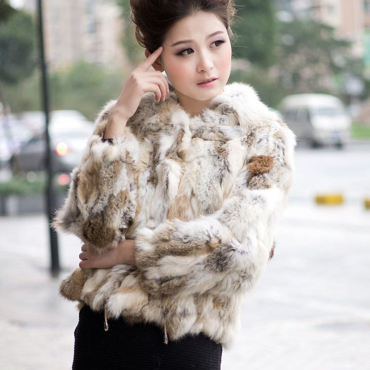Aliexpress.com : Buy Fur Story 010120 real nature color rabbit fur ...