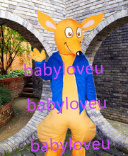 New kangaroo mascot costume fursuit halloween costumes party costume dinosaurs fancy dress christmas gift