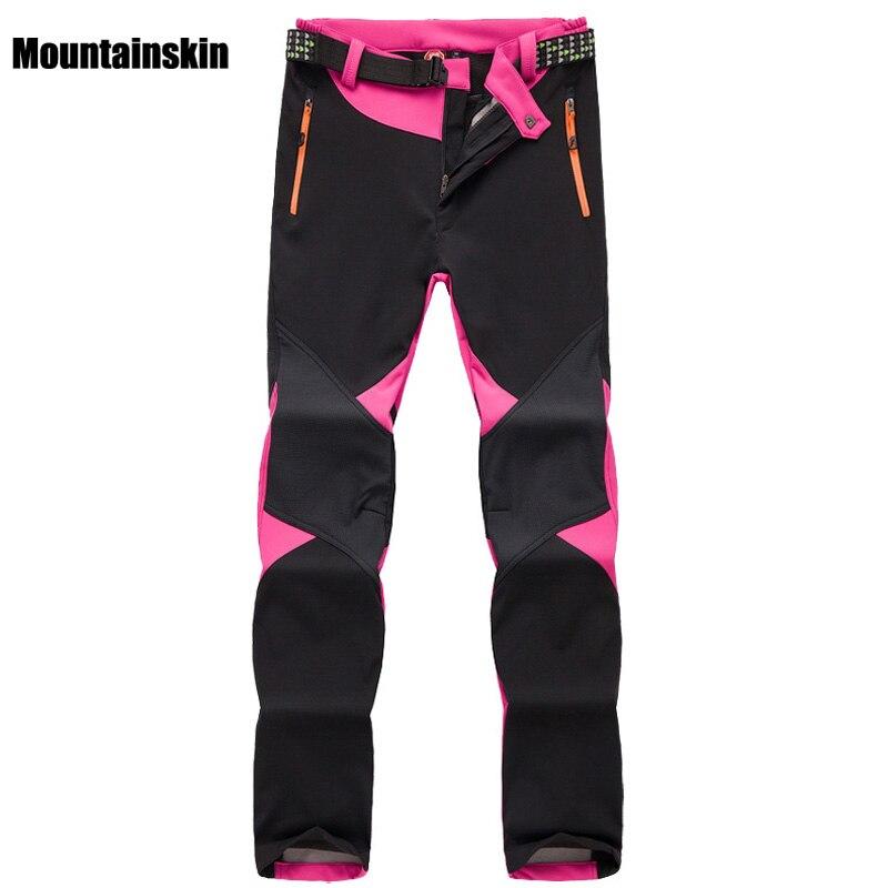 inverno das mulheres velo softshell calcas termicas esportes ao ar livre marca roupas caminhadas trekking esqui