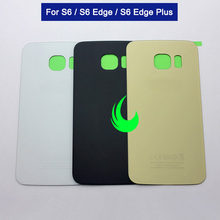 New Back Battery Cover Glass Door For Samsung Galaxy S6 edge Plus G920F G925F G928F Rear Housing Case For Samsung S6 Edge стоимость