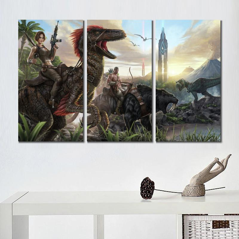The Ark Survival Evolution HD Canvas printed Home decor painting Wall art poster