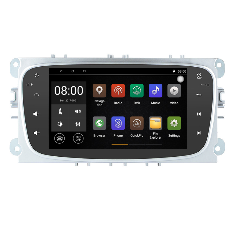 1024*600 Android 9.1 voiture DVD GPS pour Ford Focus Mondeo c-max s-max 2008 2009 2010 2011 2012 2013 2014 soutien DVR DAB 3G WiFi