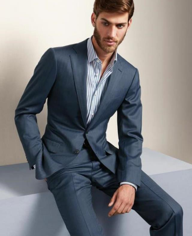 traje hecho 2 boda hombres Simple chaqueta piezas boda qzwfvBxwW Atado  Casual Simple 50ax5HqR6w 318af465492