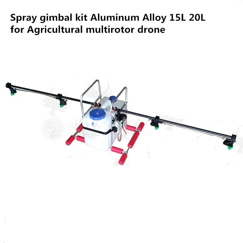 DIY Pesticide spraying system sprayer Spray gimbal kit Aluminum Alloy 15L 20L for Agricultural multirotor drones цена