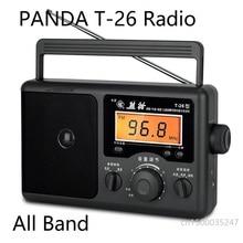 PANDA T 26 radyo tüm bant taşınabilir yaşlı adam tipi yarı iletken masaüstü FM radyo