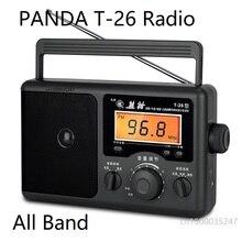 פנדה T 26 רדיו כל להקת נייד הזקן סוג מוליכים למחצה שולחן העבודה FM רדיו