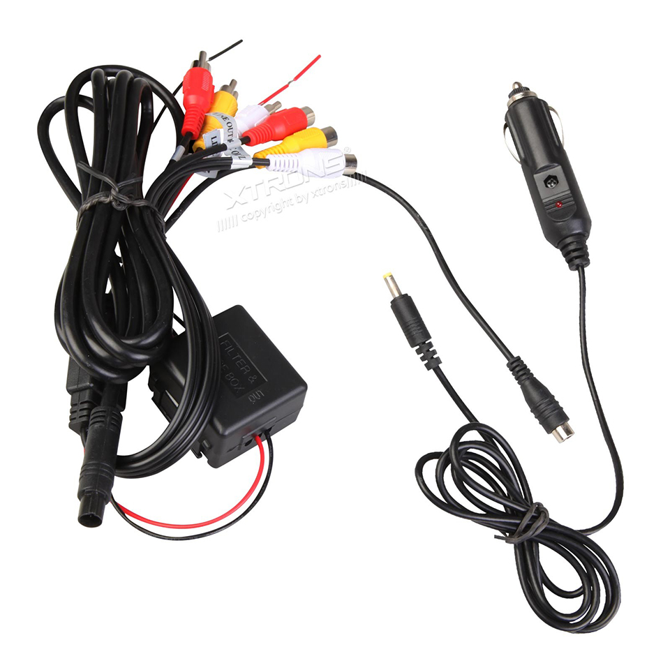 US $35.98 |In Car Cigarette Charger Auto Power Cable Plug 8 Pins  on