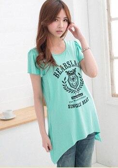 Emotion Moms модная одежда для кормящих матерей с коротким рукавом, топы для кормящих, топ для беременных женщин, летняя футболка для беременных - Цвет: Армейский зеленый